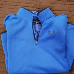 Under Armour quarter zip pullover youth L